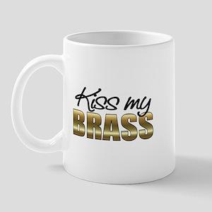 Kiss My Brass Mug