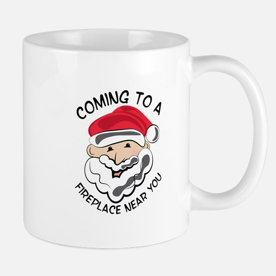 Coming To Fireplace Mugs