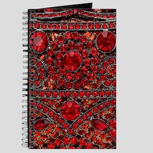 bohemian gothic red rhinestone Journal