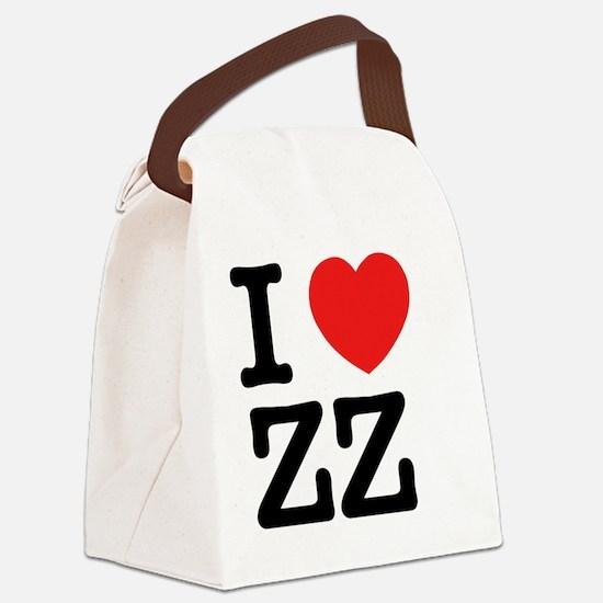 Cute Zz Canvas Lunch Bag