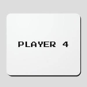 PLAYER 4 Mousepad