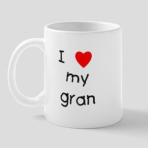 I love my gran Mug