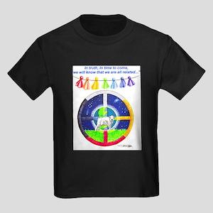 White Buffalo Calf Prophecy Ash Grey T-Shirt