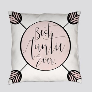 Best Aunt Ever Everyday Pillow