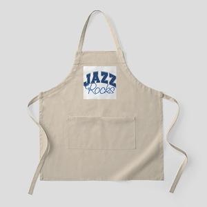 Jazz Rocks BBQ Apron
