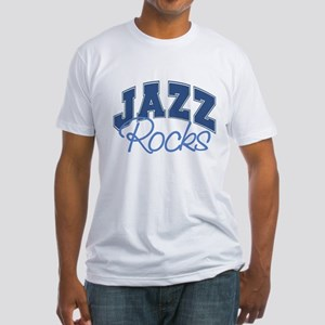 Jazz Rocks Fitted T-Shirt