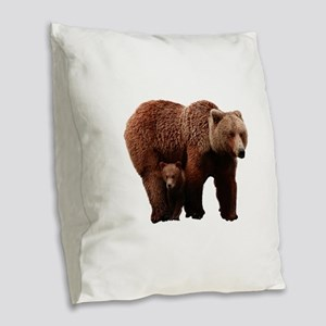 GUIDANCE Burlap Throw Pillow