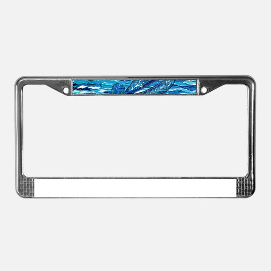 Dragonfly 2 License Plate Frame