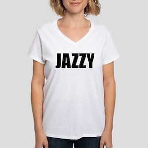 JAZZY (Bold) Ash Grey T-Shirt