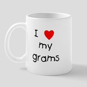 I love my grams Mug