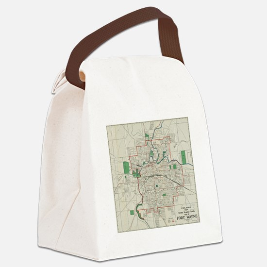 Funny Wayne Canvas Lunch Bag
