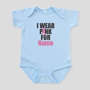 Breast Cancer Awareness - I Wear P Infant Bodysuit