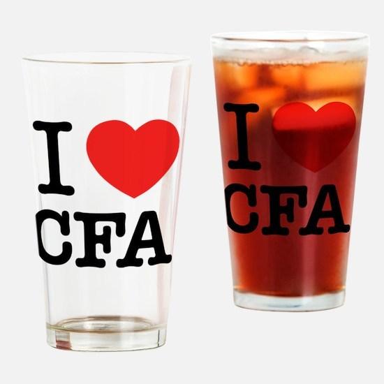Cute Cfa Drinking Glass