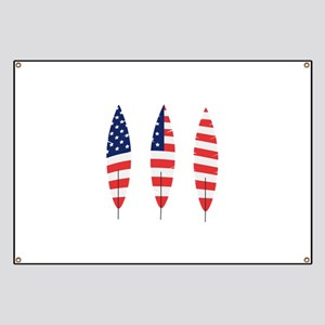 USA Feathers Banner