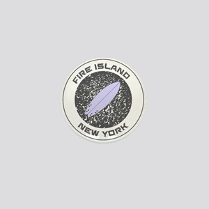 New York - Fire Island Mini Button