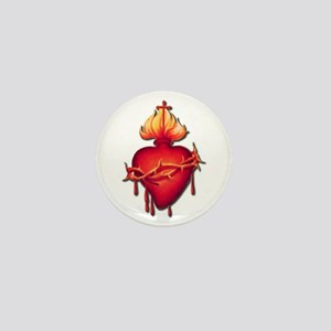 Sacred Heart (only) Mini Button