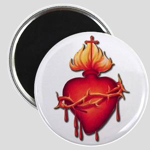 Sacred Heart (only) Magnet