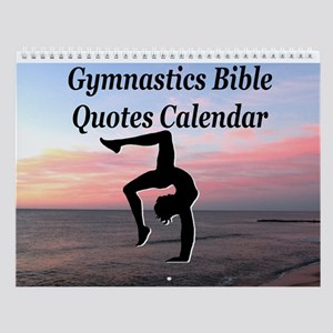 Gymnast Bible Wall Calendar