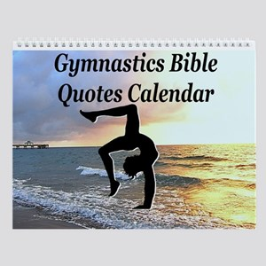 Bible Gymnast Wall Calendar