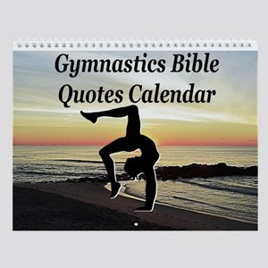 Gymnast Scripture Wall Calendar