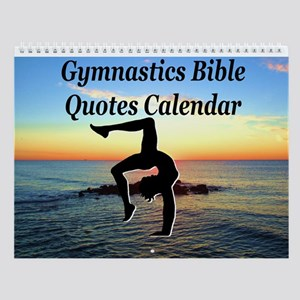 Gymnast Christian Wall Calendar
