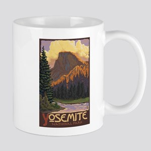 Yosemite National Park, California - Half Dome Mug