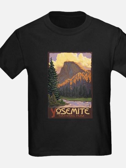 Yosemite National Park, California - Half Dome T-S