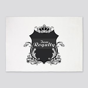 I am Royalty 5'x7'Area Rug