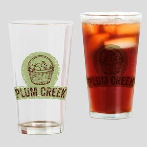 Plum Creek Drinking Glass