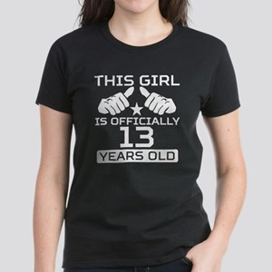 This Girl Is Officially 13 Years Old T-Shirt