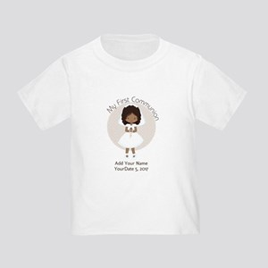 First Communion African American Toddler T-Shirt