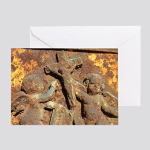 French Angels Greeting Card