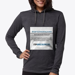 Gangstalking Awareness T-Shirt - Front Long Sleeve