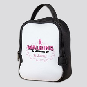 Walking in Memory Of Personaliz Neoprene Lunch Bag