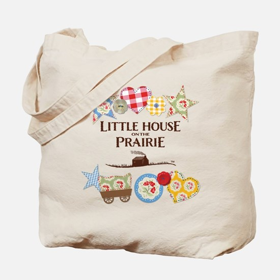 Little House On The Prairie Patches Tote Bag