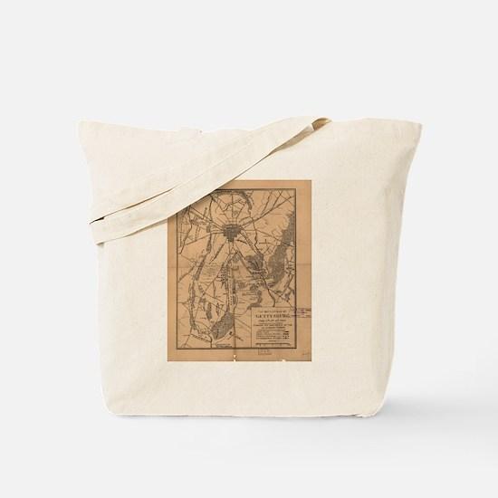 Funny Gettysburg Tote Bag