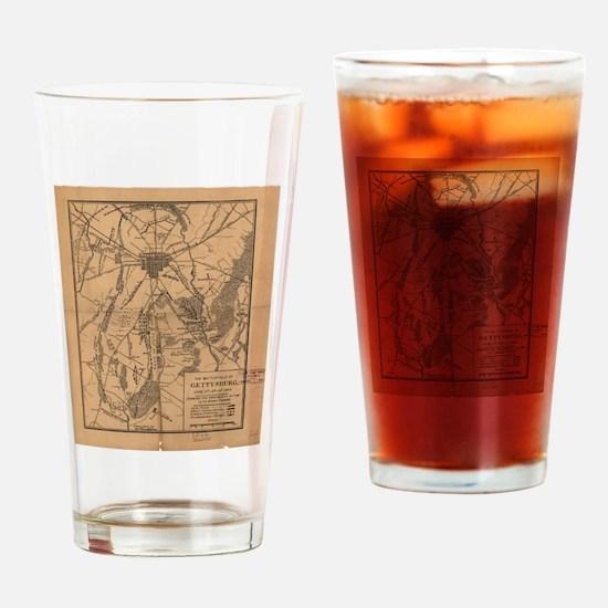 Cute Gettysburg Drinking Glass