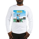 Alcohol-free Beer Sports Drink Long Sleeve T-Shirt
