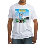 Alcohol-free Beer Sports Drink Fitted T-Shirt