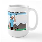 Alcohol-free Beer Sports Drink Large Mug