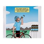 Alcohol-free Beer Sports Drink Throw Blanket
