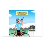 Alcohol-free Beer Sports Postcards (Package of 8)
