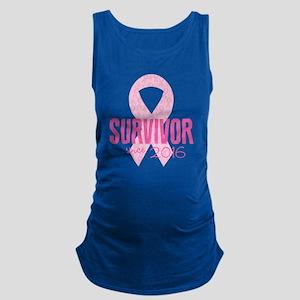 Breast Cancer Awareness - Survi Maternity Tank Top