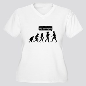 evolutionfollowing Plus Size T-Shirt