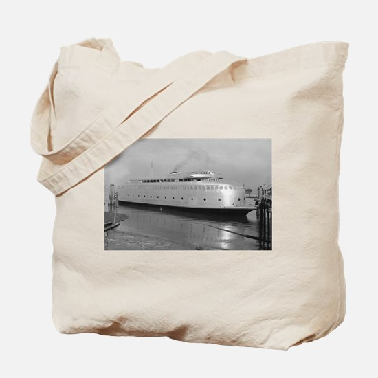 Kalakala Ferry - Vintage Photo Tote Bag