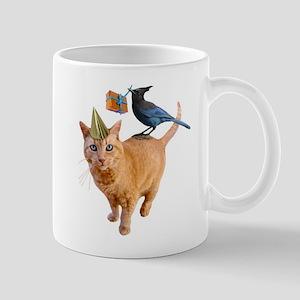 Cat Jay Birthday Mugs