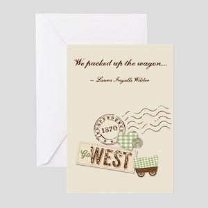 Laura Ingalls Wilder Greeting Cards (pk Of 10)