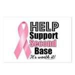 Help Support 2nd Base Postcards (Package of 8)
