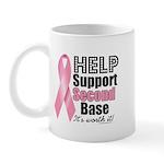 Help Support 2nd Base Mug