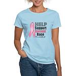 Help Support 2nd Base Women's Light T-Shirt